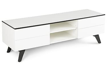 DIEGO TV-bänk 150 Vit/Svart