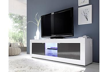 DINAMI TV-bänk 181 Vit/Antracit