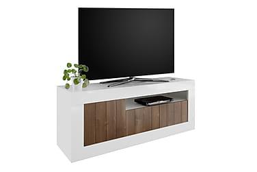 GADANA TV-bänk 138 Vit/Brun