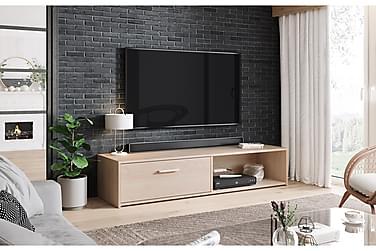 Higher Tv-bänk 140 cm Ljus Trä