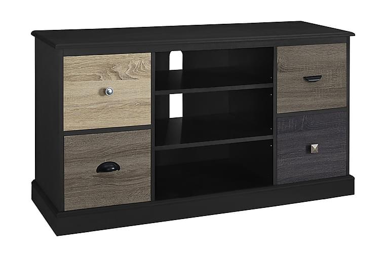 MERCER Tv-bänk 121x40 cm Svart - Dorel Home - Möbler & Inredning - Mediamöbler - Tv-bänkar