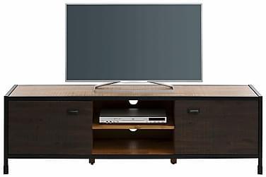 NEDAS TV-bänk 165 Akacia/Multi/Metall