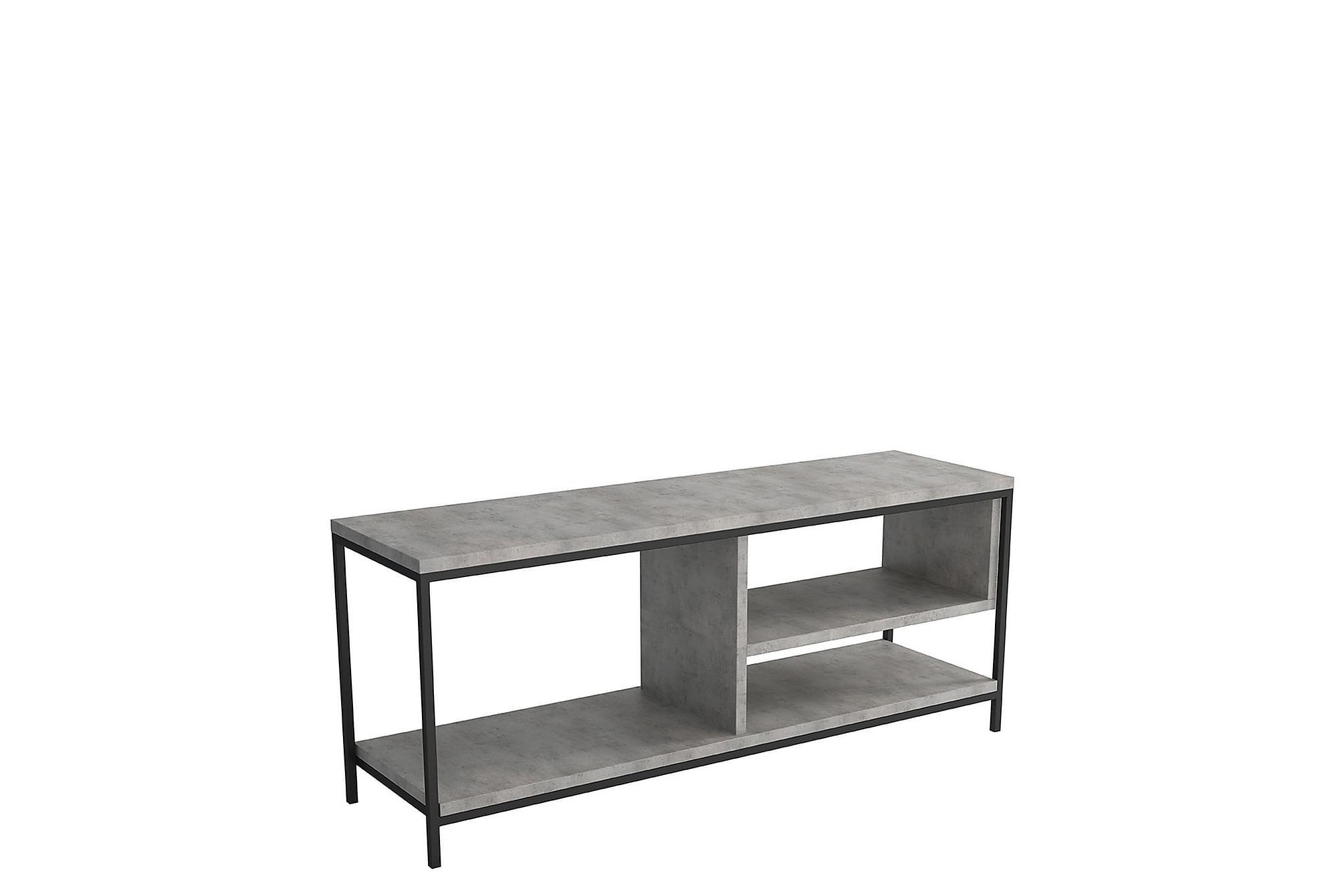 Norrotez tv-bänk grå/svart
