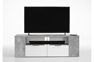 PAMILLA TV-bänk 150 Vit/Betong