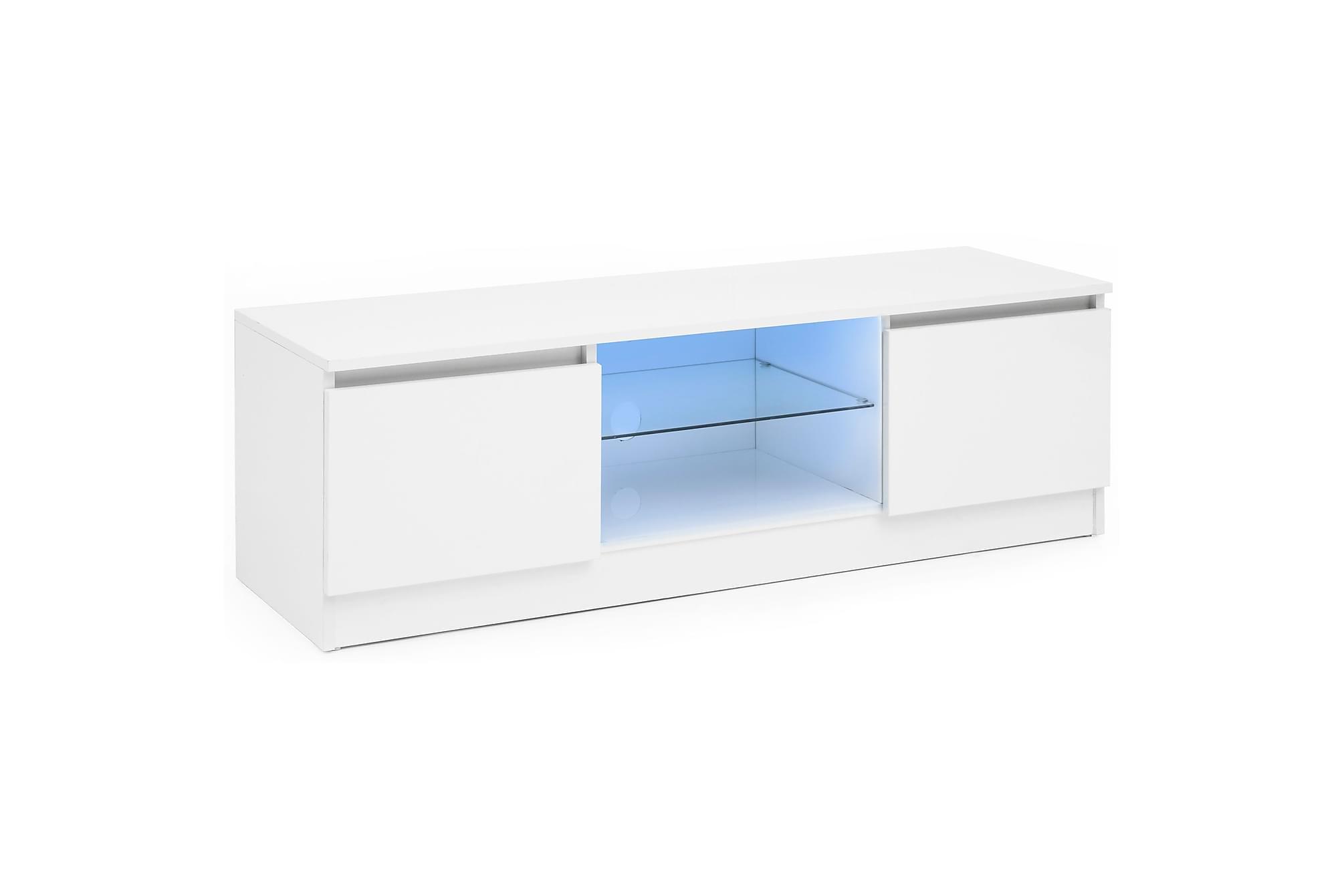 Reidler tv-bänk 120 cm vit