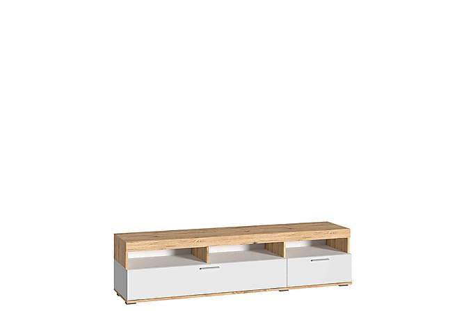 RIVA TV-bänk 165x45x42 cm - Beige|Vit - Möbler & Inredning - Mediamöbler - Tv-bänkar