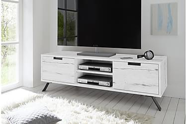 ROBIN TV-bänk 156 Vit Ek