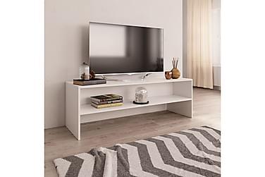 TV-BÄNK vit 120x40x40 cm spånskiva