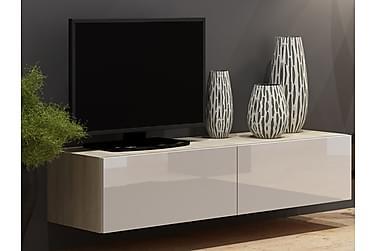WILBER TV-bänk 140 Vit/Ek