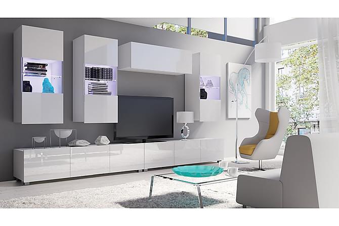 Calabrini TV-möbelset - Vit - Möbler & Inredning - Mediamöbler - Tv-möbelset