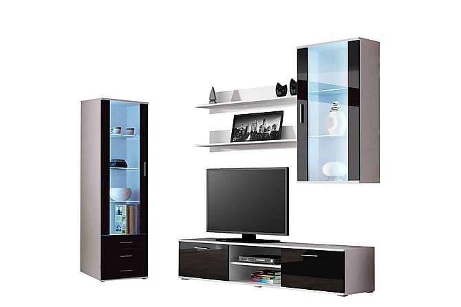 Soho TV-möbelset - Röd|Vit - Möbler & Inredning - Mediamöbler - Tv-möbelset