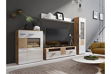 WOBONA TV-möbelset 289x35x180 cm