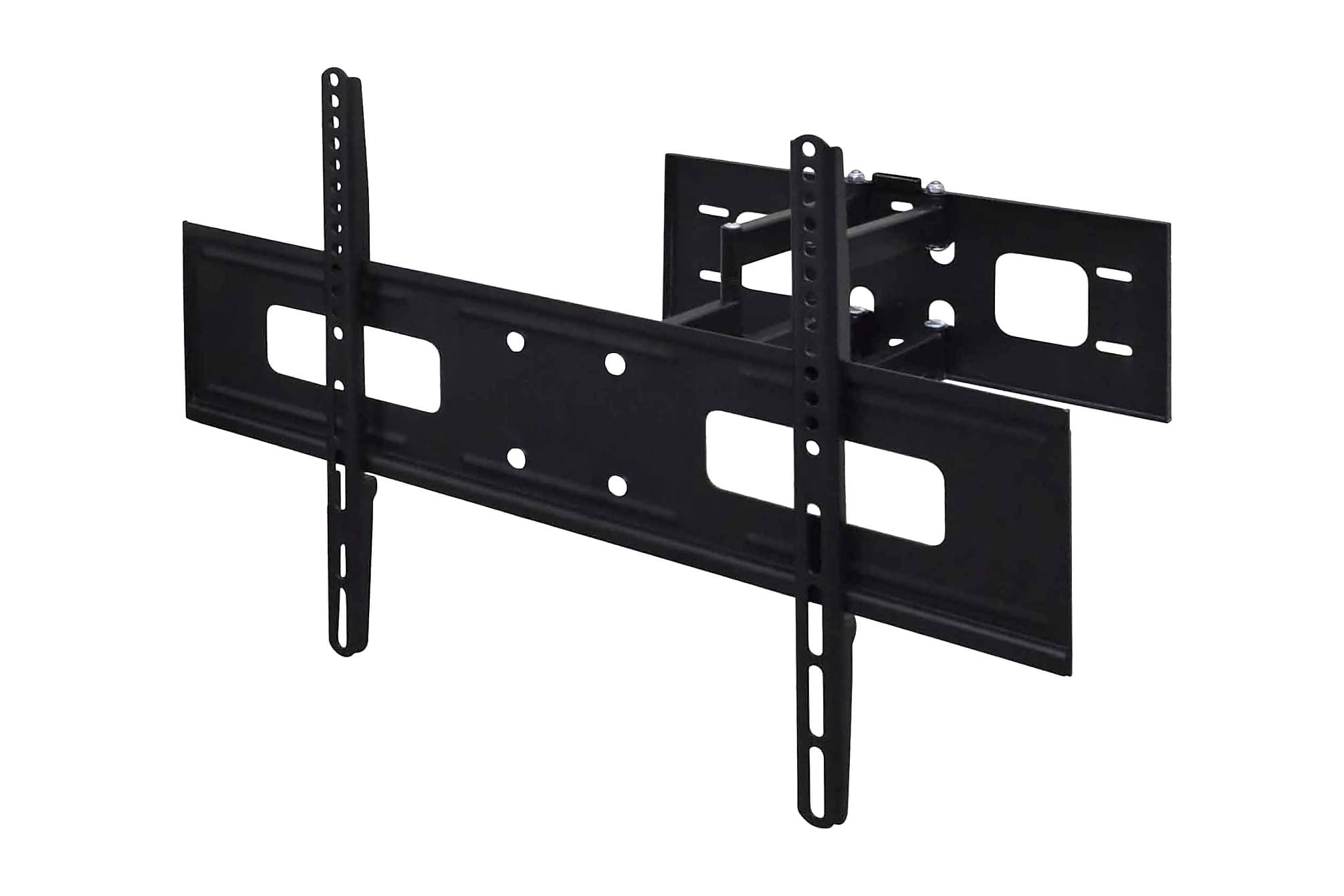 Dubbelarmat vrid/lutbart TV-väggfäste 3D 600x400mm 37 - 70, Tv-väggfästen