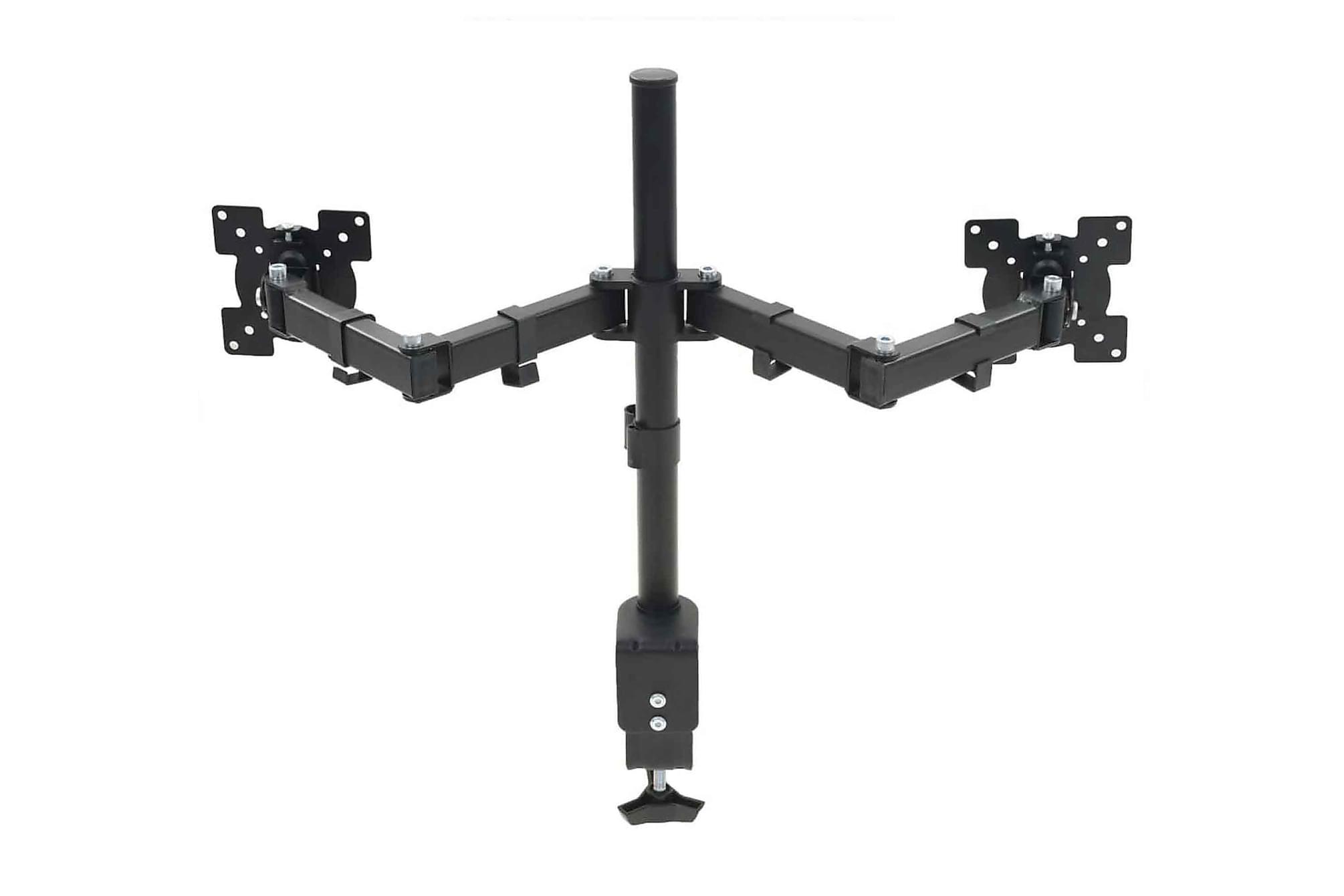 Skärmstativ 32 dubbla armar höjdjusterbar, Tv-väggfästen