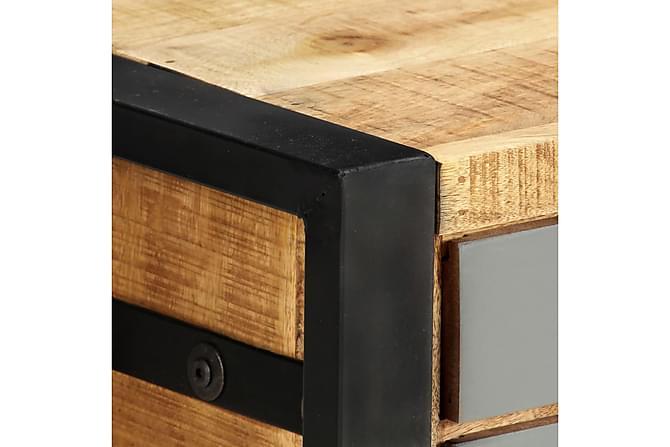 TV-bänk 120x30x40 cm massivt mangoträ - Brun - Möbler & Inredning - Mediamöbler