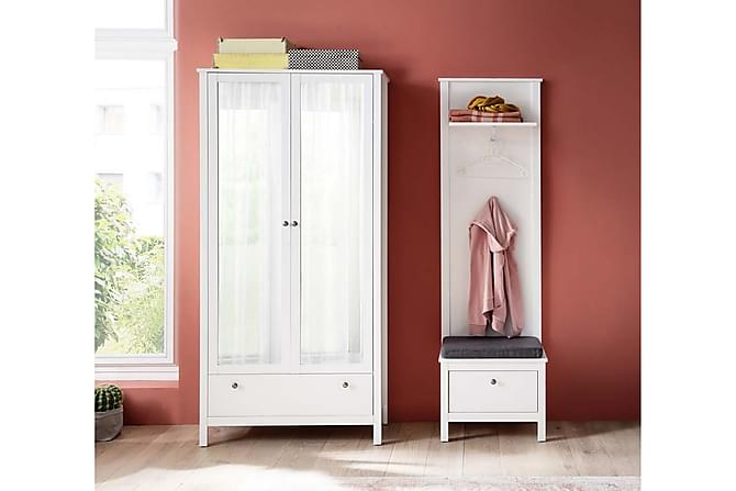 BERCETO Hallmöbelset 162 Vit - Möbler & Inredning - Möbelset - Möbelset för hall & entré