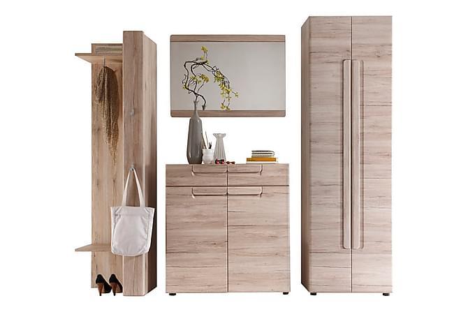KEMPSEY Hallmöbelset 240 Brun - Möbler & Inredning - Möbelset - Möbelset för hall & entré
