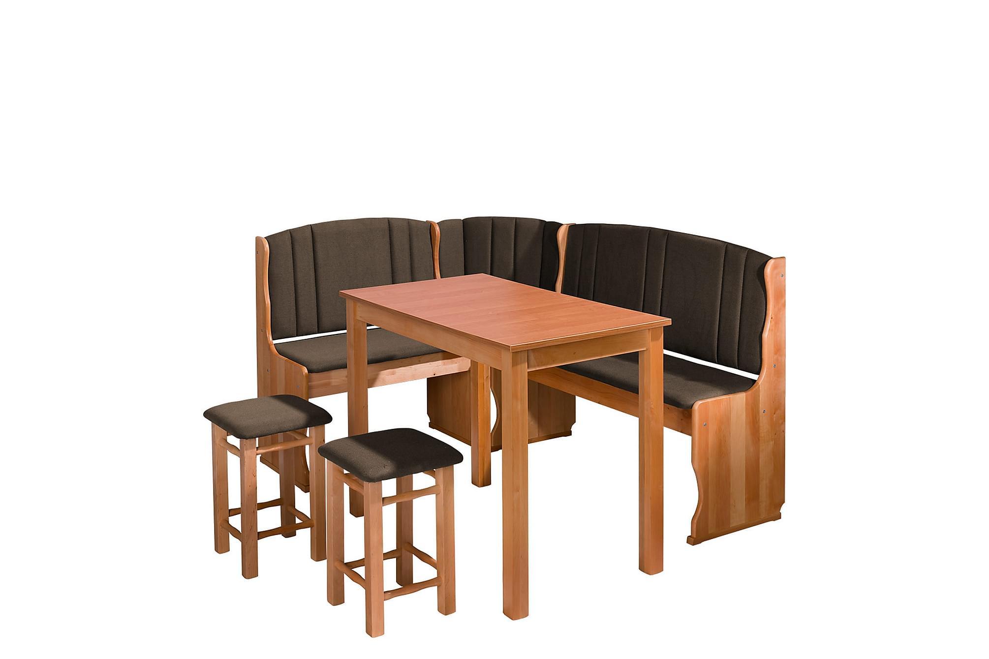 KLEBE Matgrupp Alträ, Möbelset för kök & matplats