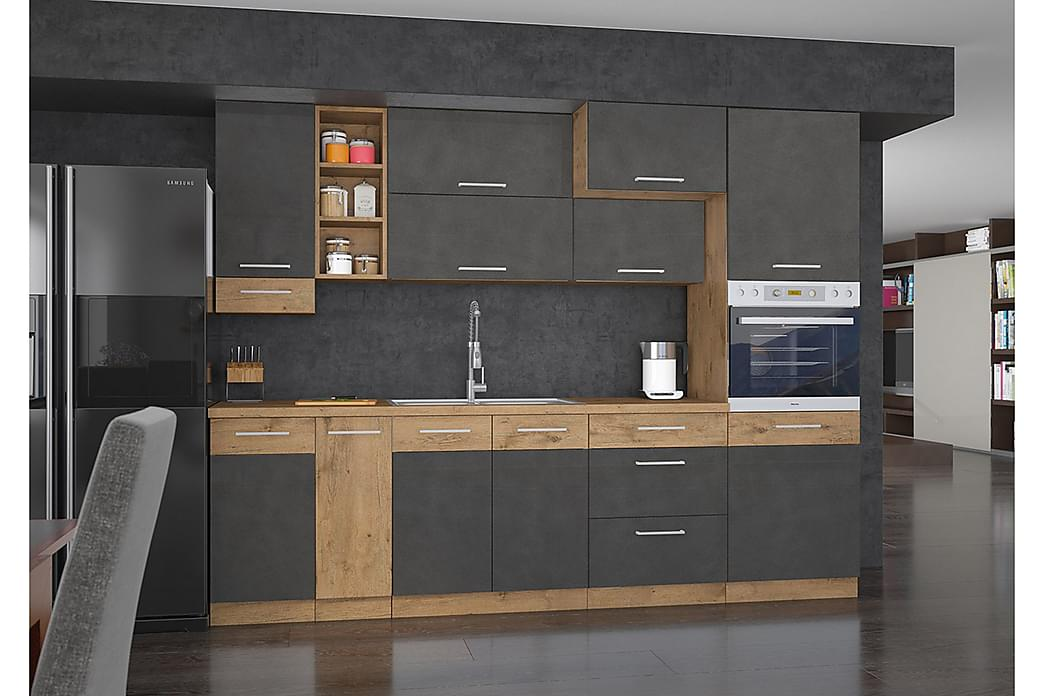 WILBER Köksmöbelset - Ek - Möbler & Inredning - Möbelset - Möbelset för kök & matplats