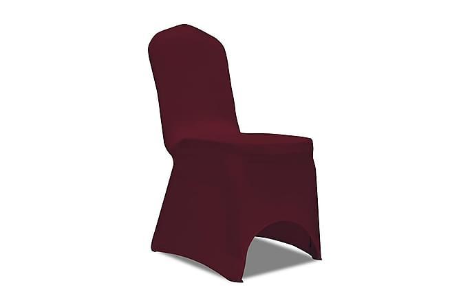Stolsöverdrag 4 st vinröd - Vinröd - Möbler & Inredning - Möbelvård - Möbelöverdrag