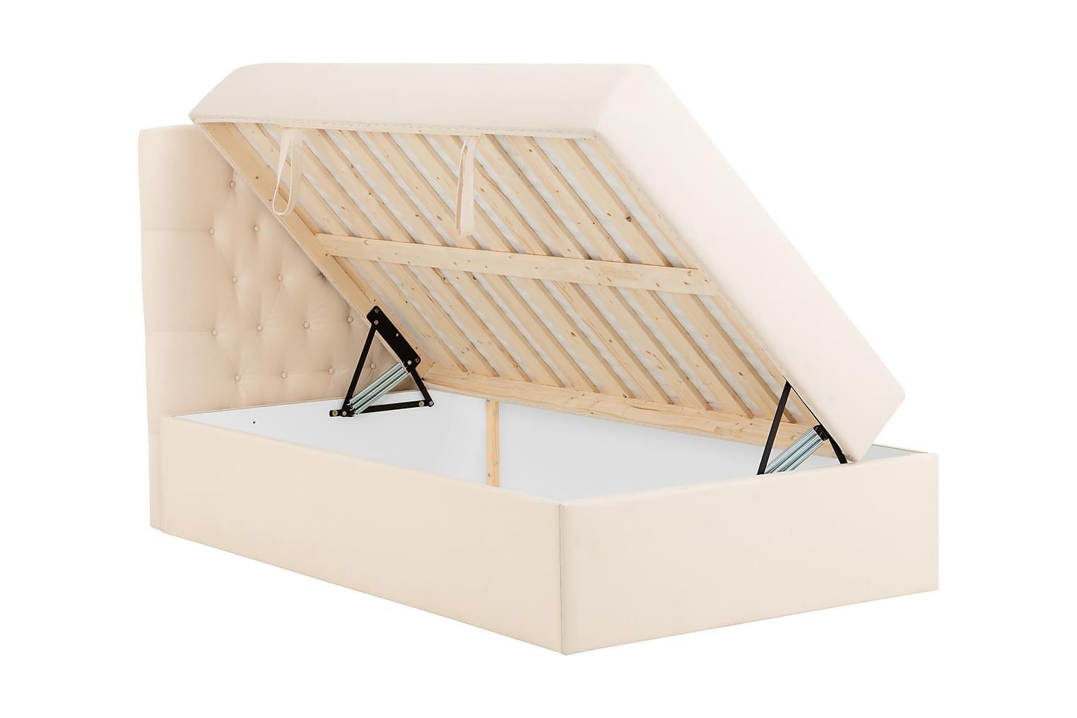 Boxbed BOXBED 140 Förvaringssäng - Sängpaket Beige -