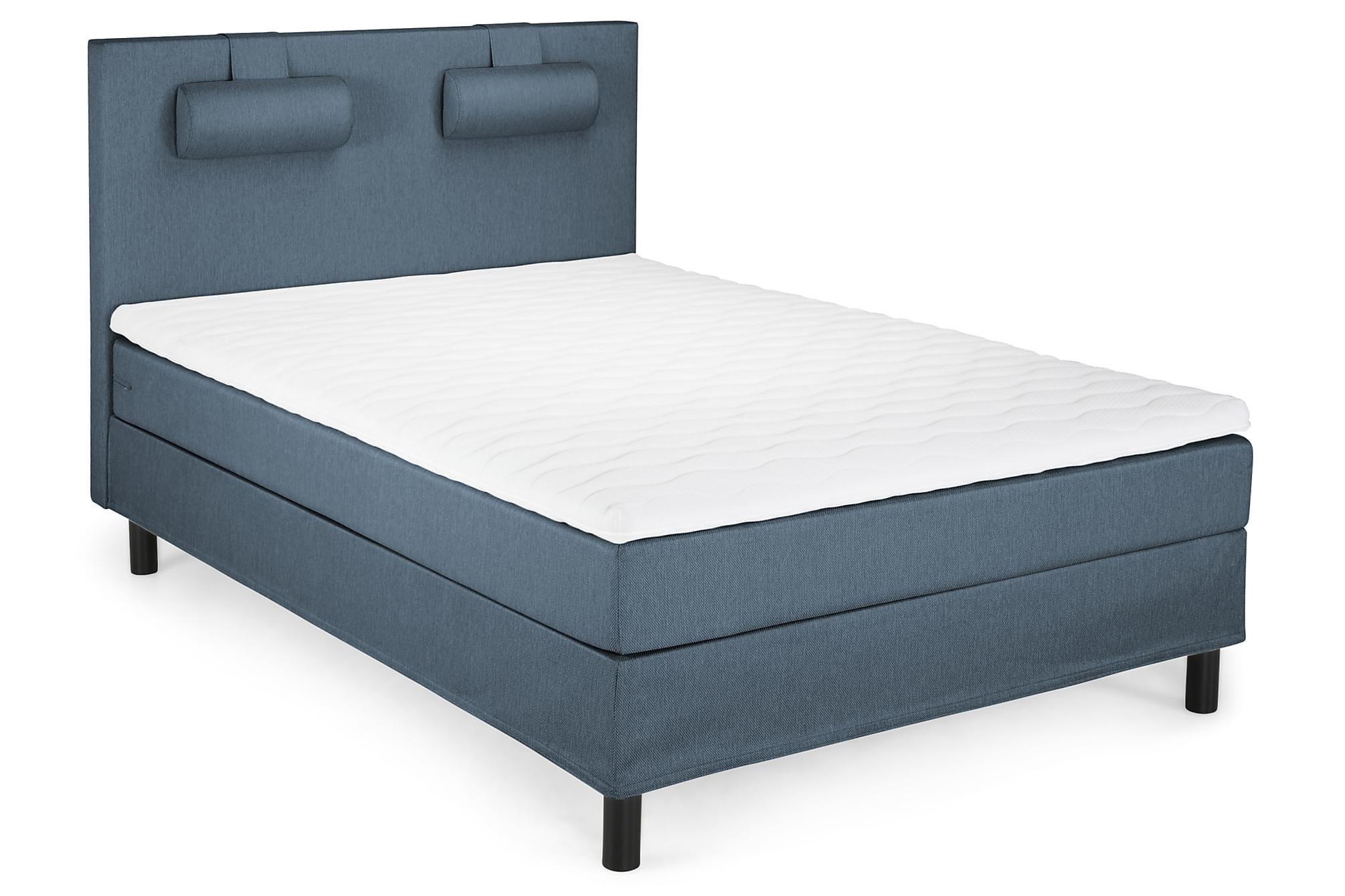 JOLLY Komplett sängpaket 140 Slät Blå