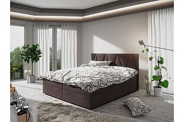 MAGDY Sängpaket 140 Mönstrad Gavel Brun