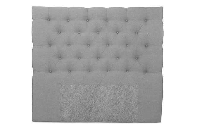 OAKHAM Komplett Sängpaket Kontinentalsäng 140x200 Ljusgrå - Royal Box Sänggavel 140 cm - Möbler & Inredning - Sängar - Komplett Sängpaket