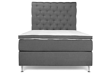 PEARL Basic Sängpaket Kontinentalsäng 120x200 Grå