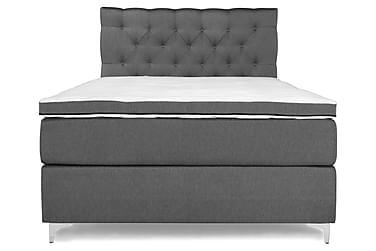 PEARL Comfort Sängpaket Kontinentalsäng 120x200 Grå