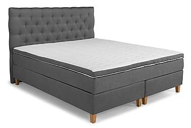 PEARL Comfort Sängpaket Kontinentalsäng 160x200 Grå