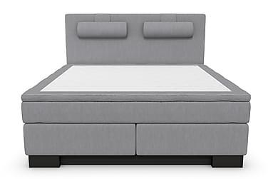 RANGER Kontinentalsäng - Sängpaket 160 Ljusgrå