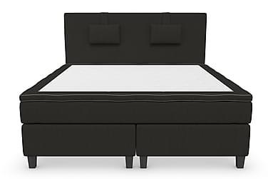 RANGER Kontinentalsäng - Sängpaket 160 Svart
