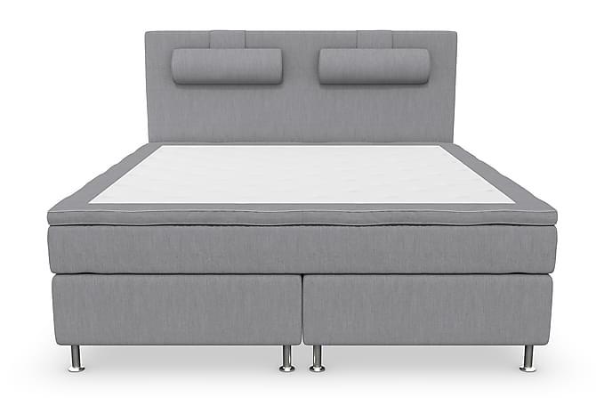 RANGER Kontinentalsäng - Sängpaket 180 Ljusgrå - Möbler & Inredning - Sängar - Komplett Sängpaket