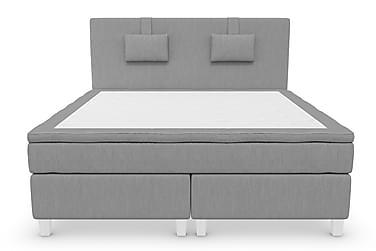RANGER Kontinentalsäng - Sängpaket 180 Ljusgrå