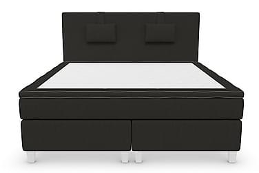 RANGER Kontinentalsäng - Sängpaket 180 Svart