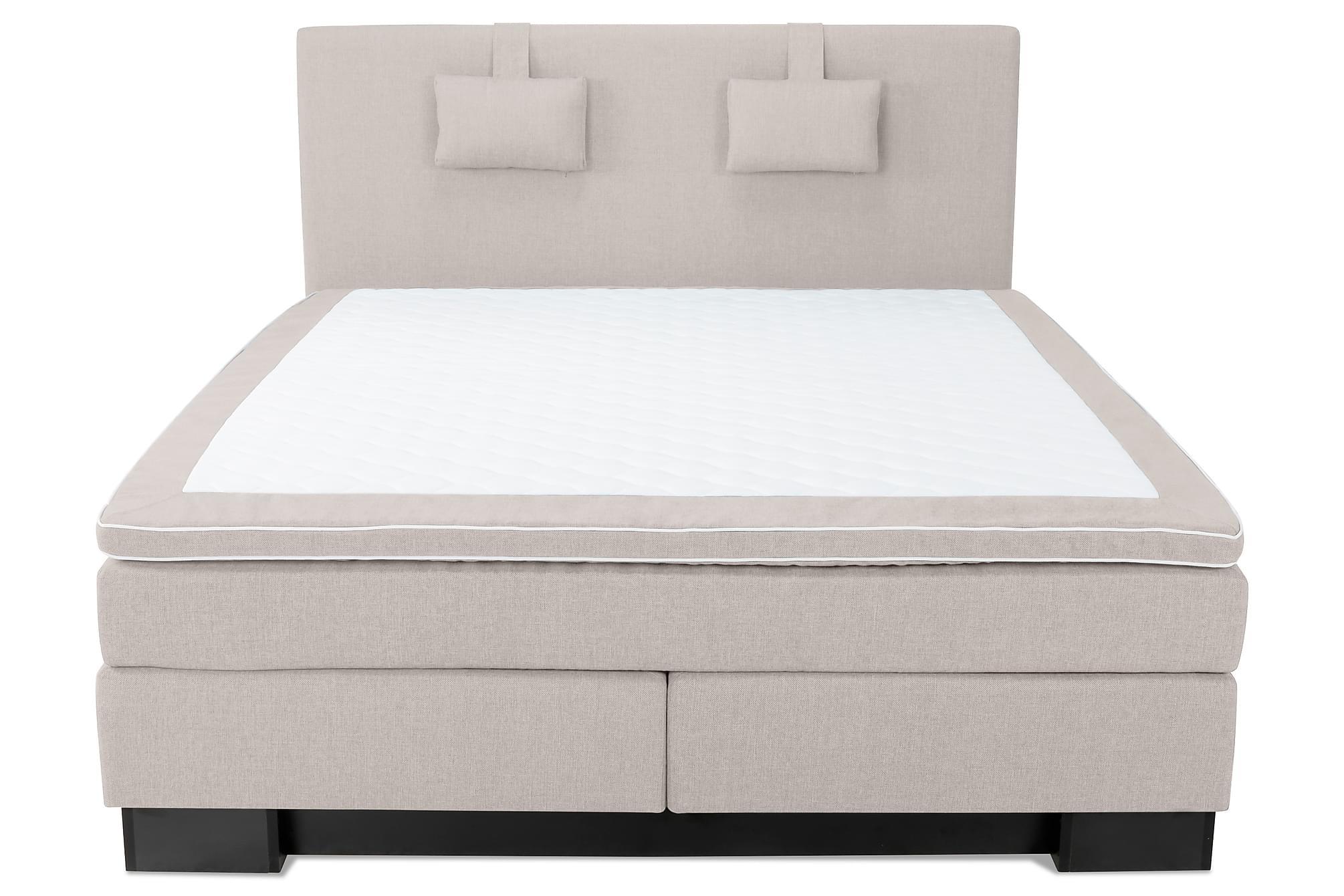 SINNEBO Sängpaket 210×210 Beige