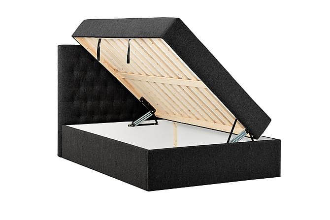BOXBED 120 Förvaringssäng Svart - Inomhus - Sängar - Kontinentalsängar