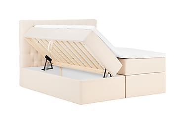 BOXBED Förvaringssäng 160 Beige