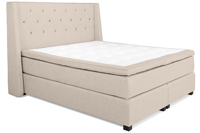 HUNT Kontinentalsäng - Sängpaket 180 Beige - Möbler & Inredning - Sängar - Kontinentalsängar