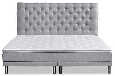 SENSITY BAS Sängpaket 210x210 Grå