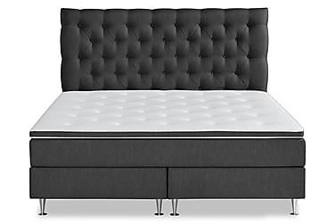 SENSITY LUX Sängpaket 160x200 Antracit