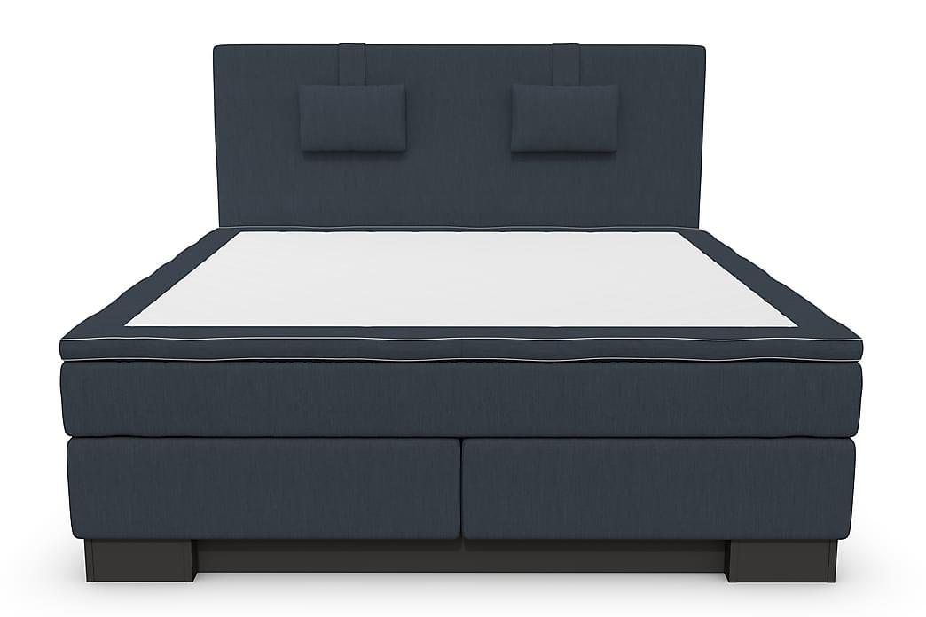 SINNEBO Kontinentalsäng - Sängpaket 180 Mörkblå - Möbler & Inredning - Sängar - Kontinentalsängar