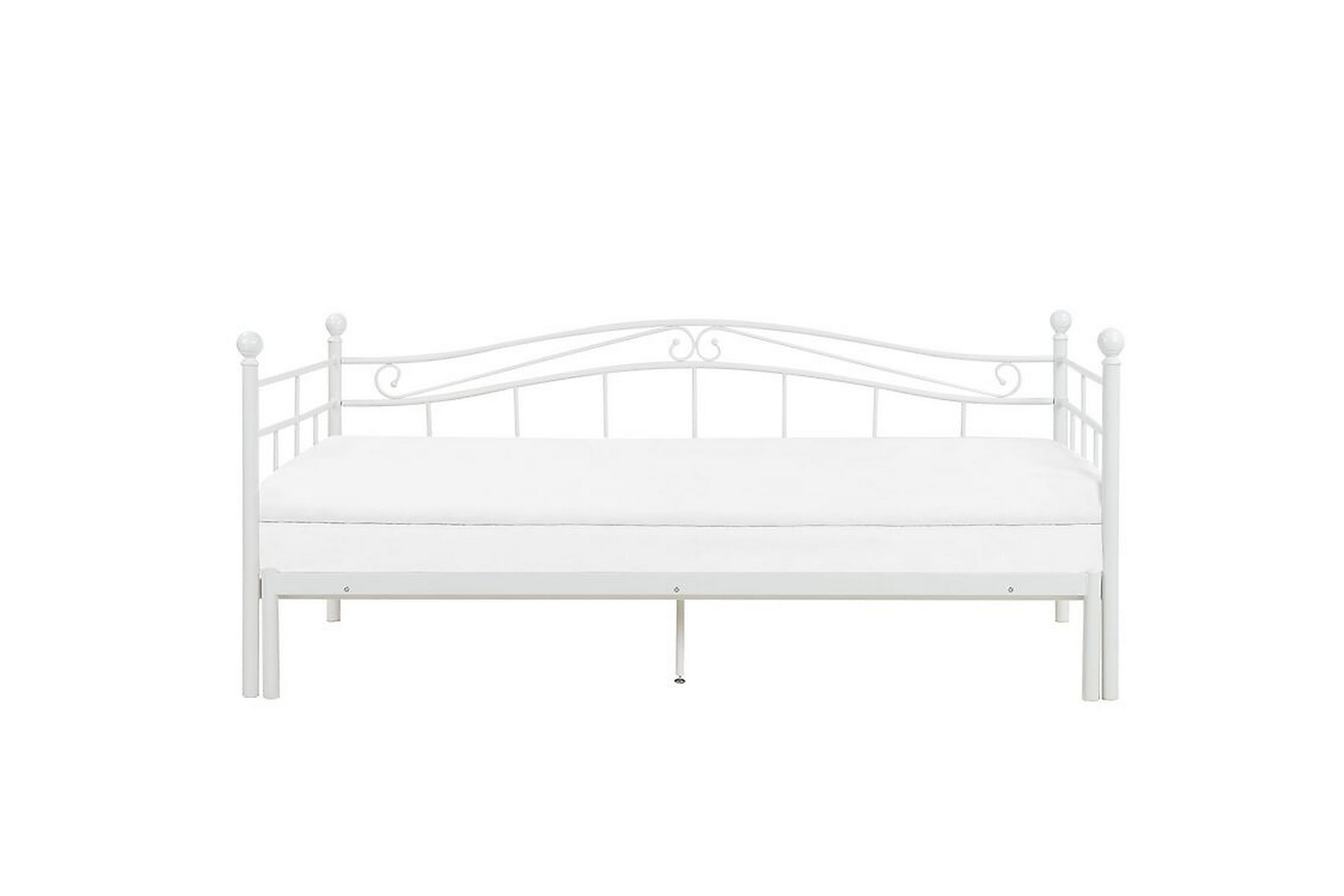 AKKASTUGAN Säng 160x200 cm Vit, Ramsängar