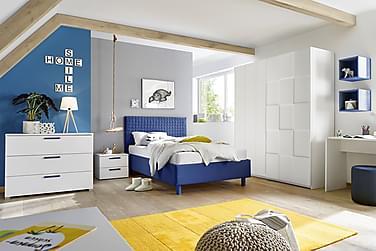 MOYES Sängram 160 Blå