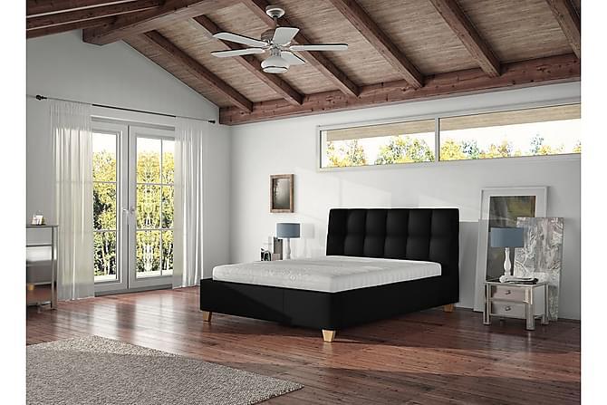 CARLA Förvaringssäng & madrass 223x148x106 cm - Vit - Möbler & Inredning - Sängar - Sängar med förvaring