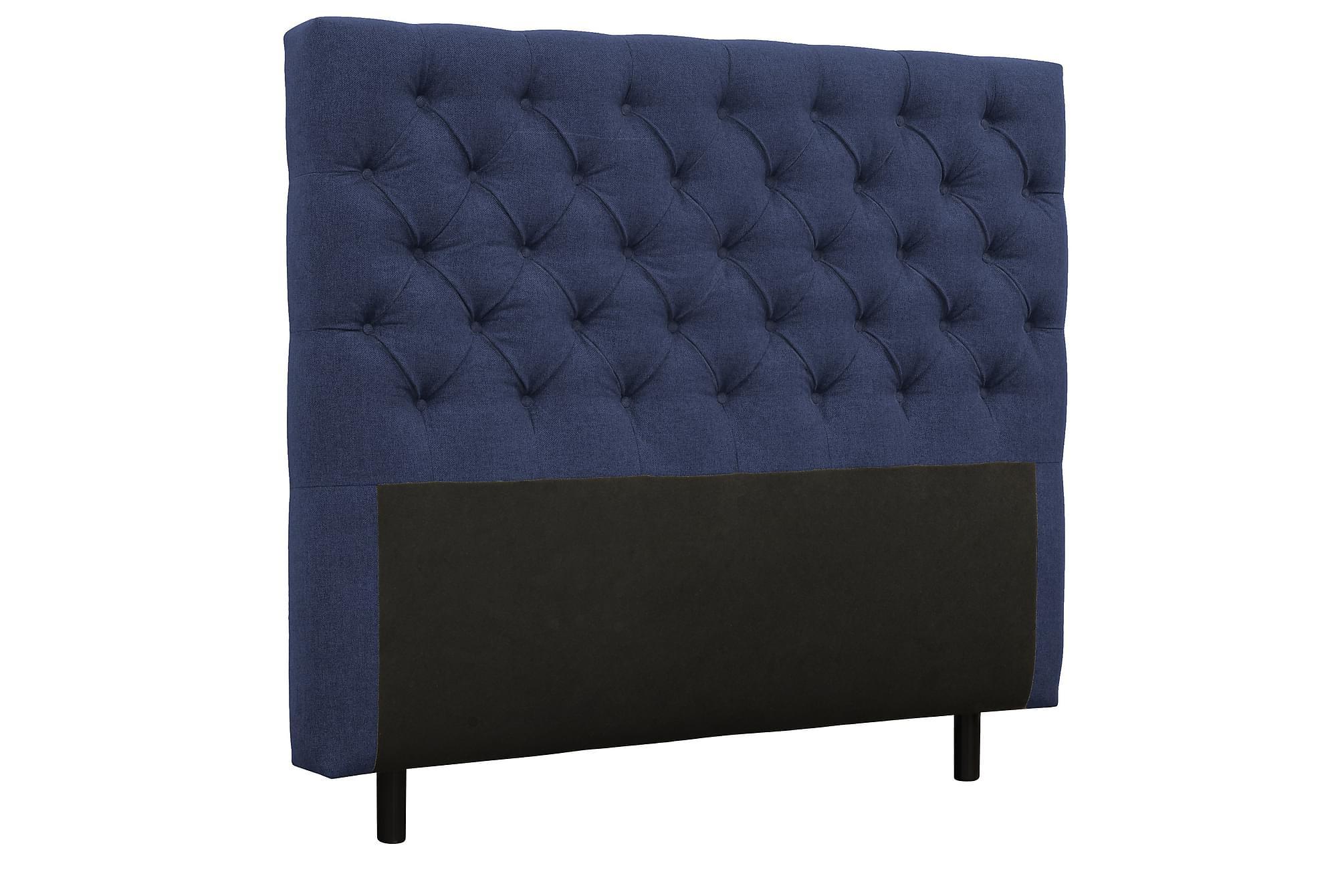 AUGUSTA Sänggavel 160 cm Mörkblå, Sänggavlar