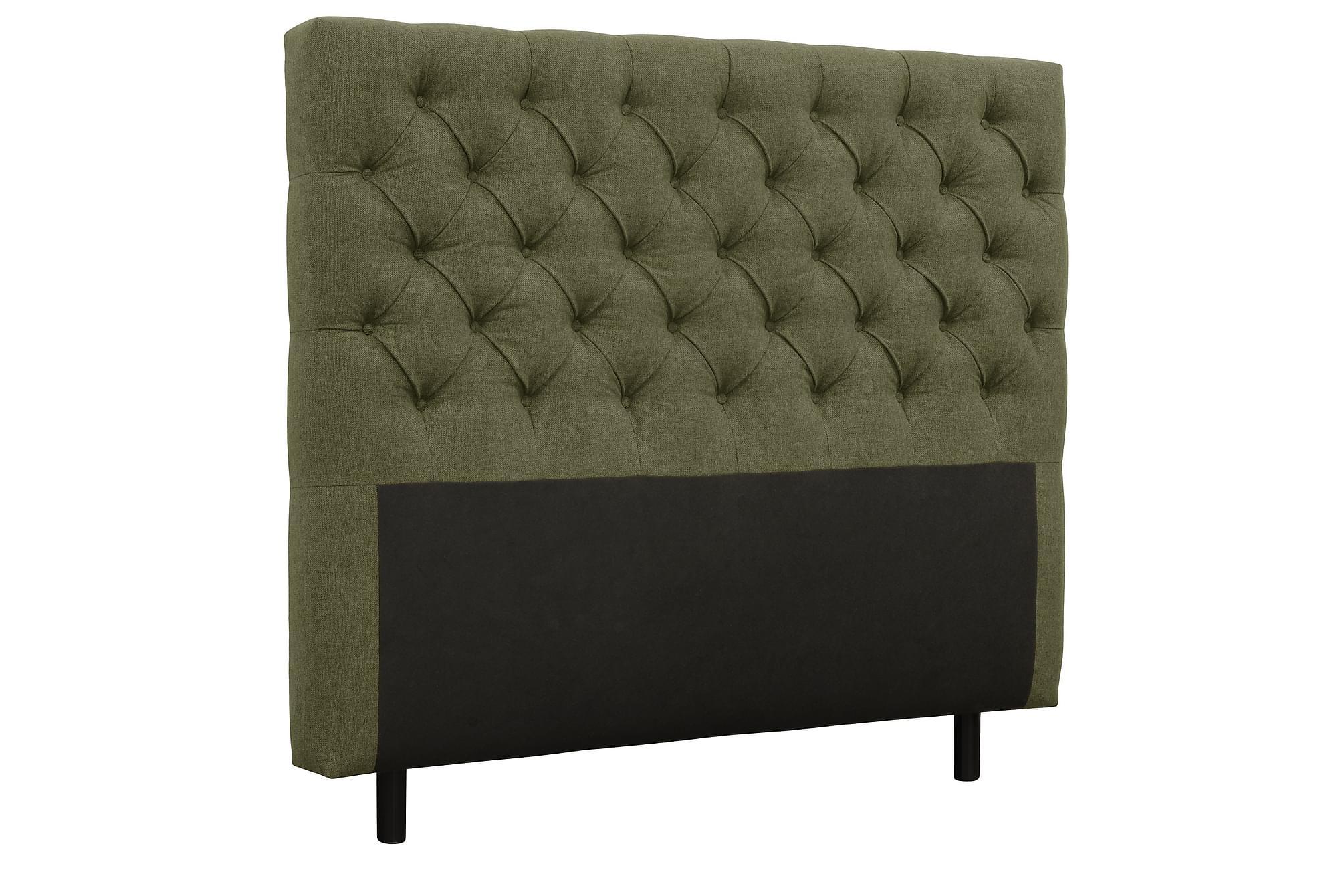 AUGUSTA Sänggavel 160 cm Mörkgrön, Sänggavlar