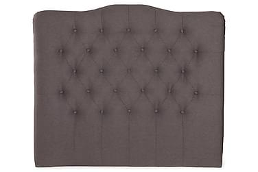 LORENZO Sänggavel 120x120 Ljusgrå