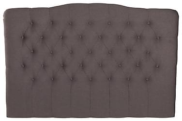 LORENZO Sänggavel 160x120 Ljusgrå
